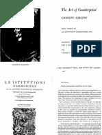 Gioseffo Zarlino - Art of Counterpoint (1558)