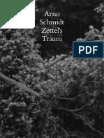 Arno Schmidt - ZT-Beispielheft