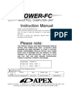 Apexi Powerfc Instruction Manual