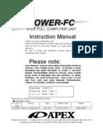 Apexi Powerfc Instruction Manual