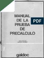 Prueba de Cálculo (Manual)