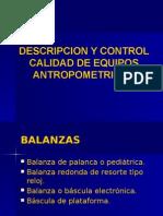 Exposicion Control Que Equipos Antropometricos
