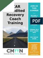 CCAR Training Flyer July 2015