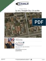 4815 Cloverly Ave, Temple City CA
