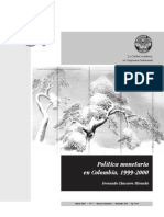 Dialnet Politica Monetaria En Colombia 19992000 4547094 (1)