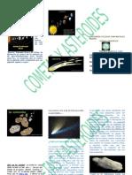 Triptico Cometas y Asteroides