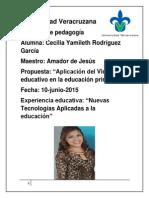 Video Educativo en La Educación Primaria