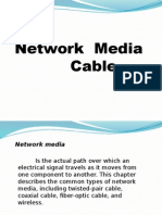 NETWORK MEDIA CABLES