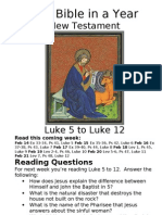 Bible in a Year 15 NT Luke 5 to 12