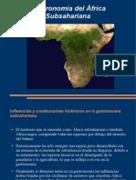 Gastronomía Internacional Africa Subsahariana y Sudafrica