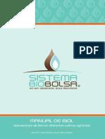 Sistema Biobolsa para producir gas
