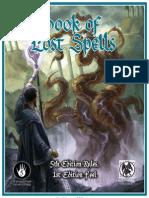 Book of Lost Spells (Necromancer Games)