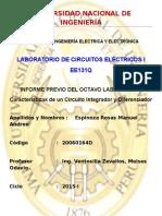 Informe Previo Circuito Diferenciador e Integrador