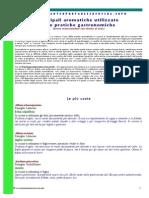 Principali Aromatiche Coltivate e Spontanee Breve Memorandum Con Ricette Al Volo