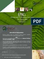 IBEX Bionomics EPACs