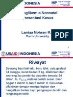 07b. Neonatal Hypoglycemia Case Presentation-ID 16 Feb 06