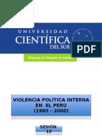 Violencia Política en El Perú (1980 - 2000)