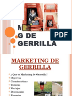 Marketing de Gerrilla