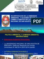 12Incorporacion Dimension Ambiental y Acciones Frente Al Cambio Climatico en La UNSA