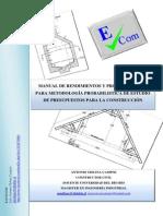 manual  probalilistico de rendimientos y procedimientos para la construcción.pdf