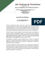 BOLETÍN DE PRENSA 13-II-10