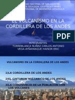 El Vulcanismo en Los Andes