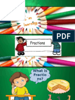 E-learning Maths Fractions
