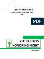 Yr 2 Yfc Parents Honoring Night (2009 Edition)