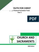 Yr 3 Yfc Church and Sacraments (2009 Edition)