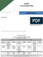 6th grade math curriculum map