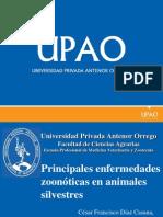 02 Principales Enfermedades Zoonoticas en Animales Silvestres
