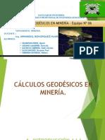 180630116 Calculos Geodesicos en Mineria