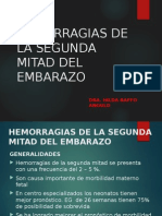HEMORRAGIAS DE LA SEGUNDA MITAD DEL EMBARAZO.pptx