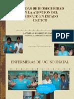 Medidas de Bioseguridad en La Atencion Del Neonato.