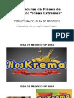 Exposicion Plan de Negocios.