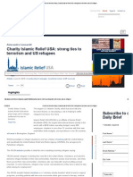 Charity Islamic Relief USA_ Strong Ties to Terrorism and US Refugees