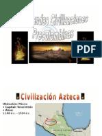 Los Aztecas Microsoft PowerPoint