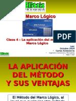 Clase 4 La Aplicación Del Método de Marco Lógico
