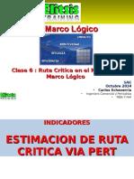 Clase 6 Ruta Critica Para El Modelo Marco Lógico