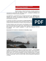 Caso Termoelectrica Punta Alcalde