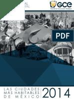Dossier Ciudades Mas Habitables 2014
