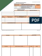 Formato Planificación Educación Básica
