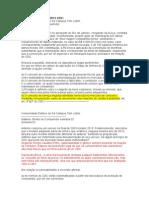 Caderno de Exercício 2013 CDC
