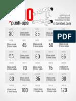 1000 Pushups Challenge