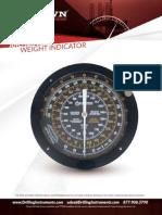 Anchor Type Weight Indicator English