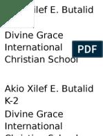 Akio Xilef E