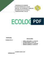 Ecología Informe