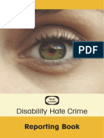 Hate Crime Reporting Book