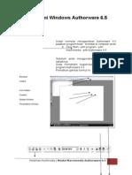 Modul Authorware 6.5
