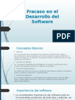 Fracaso en El Desarrollo Del Software